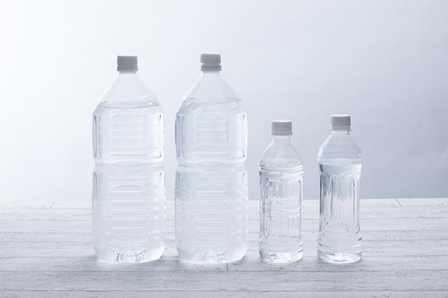 ペットボトルを使った簡易給水器も有効