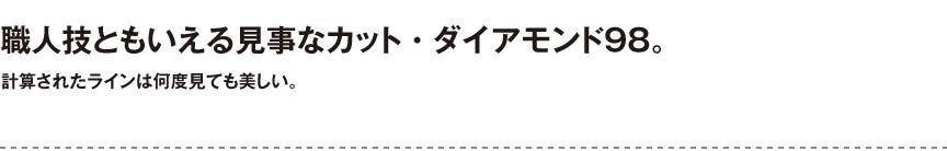 プラストコレクション【ダイアモンド98】