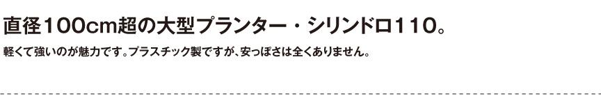 伝統樹脂【シリンドロ110】