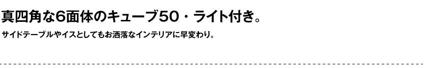ライト【キューブ50屋外】