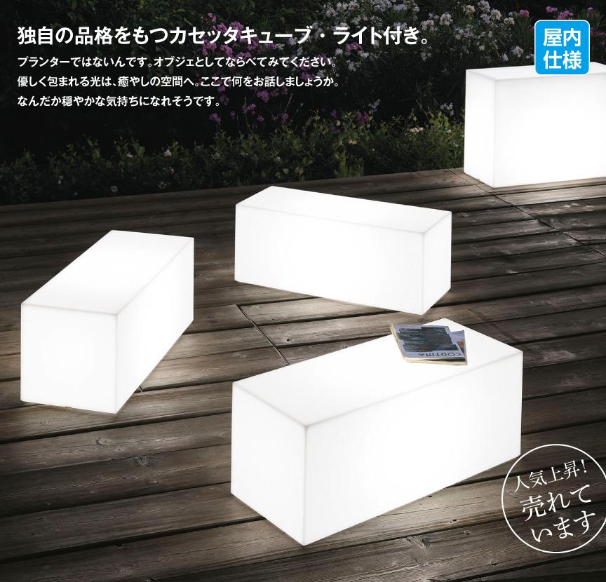ライト【カセッタキューブライト屋内】