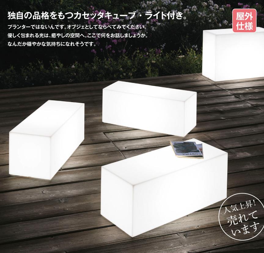 ライト【カセッタキューブライト屋外】
