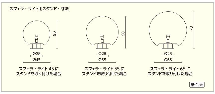 ライト【スフェラライトスタンド】