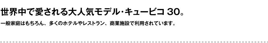 レチューザ【キュービコ30】