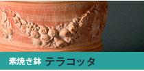 テラコッタ素焼き鉢